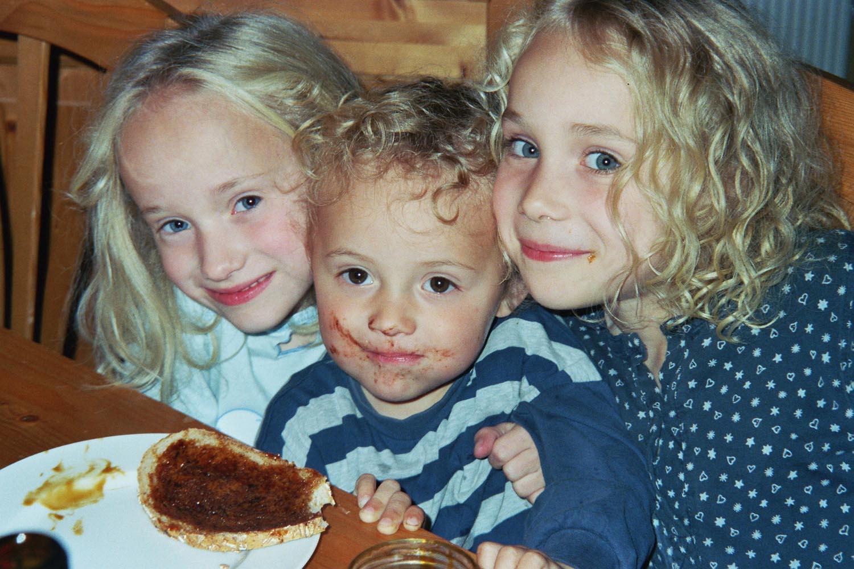 Maria, Noah und Hannah